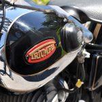 Motorrad BGD250 restauriert