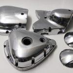 Motorteile W650 poliert