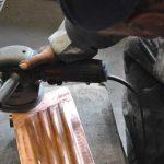 Metall polieren - Poliervorgang