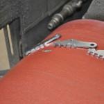 Metallschleifen - Ausgabe Transportband