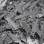 Metallschleifen - fertig geschliffene Teile