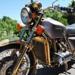 Metallveredelung - Vergolden von Motorradteilen